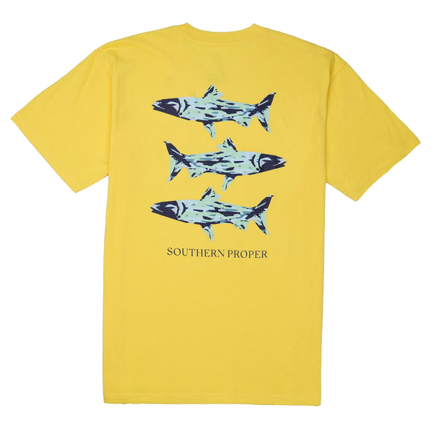 Southern Proper - Southern Waters Tee: Snap Dragon
