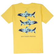 Southern Proper - Boys - Southern Waters Tee: Snap Dragon