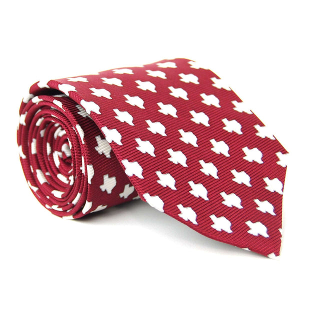 Southern Proper - Texas Gameday Tie: Maroon