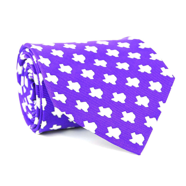 Southern Proper - Texas Gameday Tie: Purple