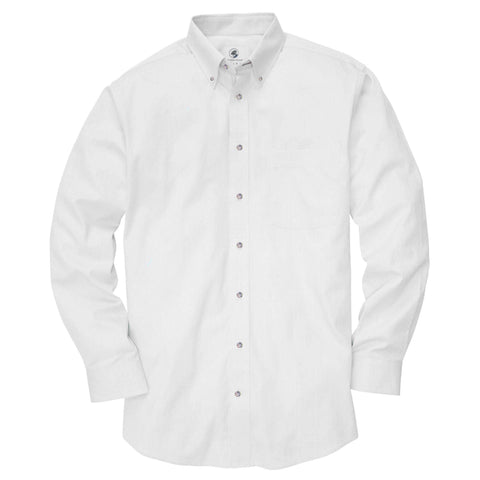 Southern Proper - Weekend Shirt: White Oxford