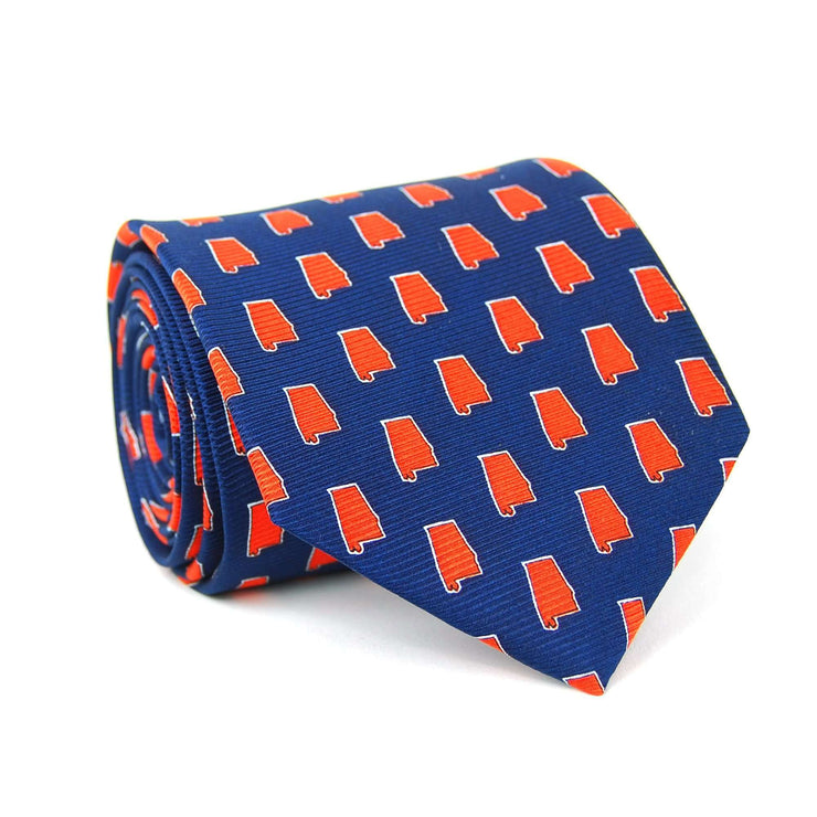 Southern Proper - Alabama Gameday Tie: Navy