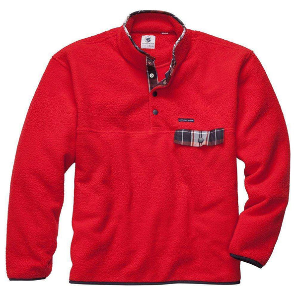 Southern Proper - All Prep Pullover - Red