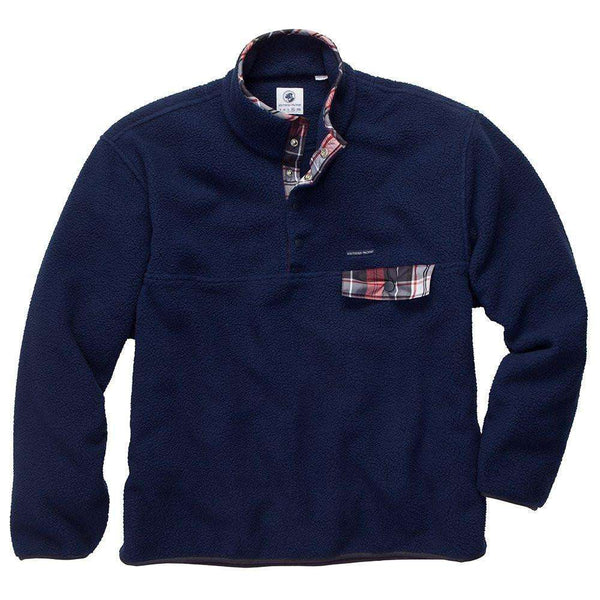 Southern Proper - All Prep Pullover: Navy