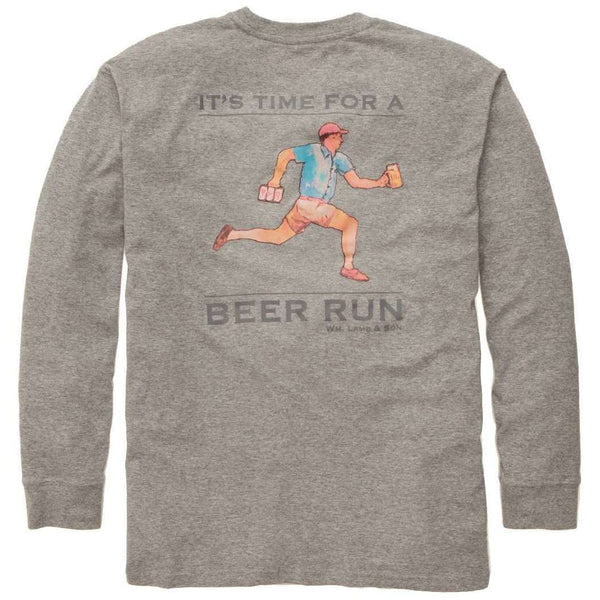 Southern Proper - The Beer Run Tee by Wm. Lamb & Son - Long Sleeve