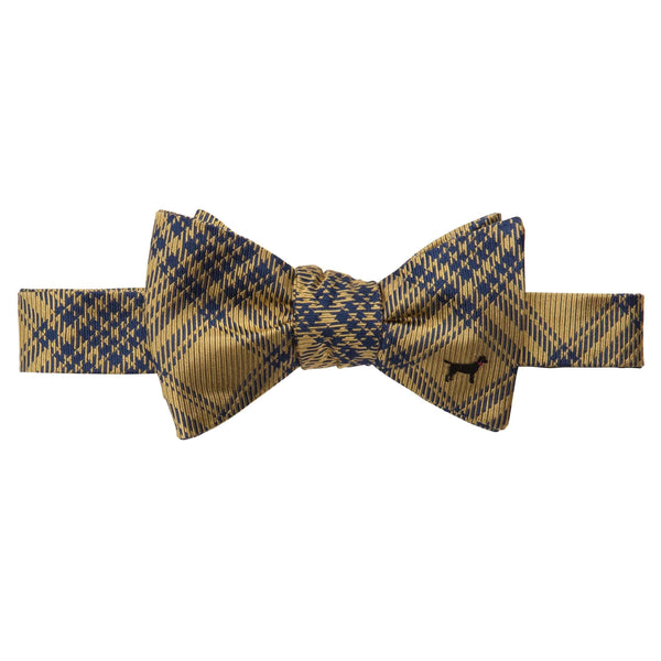 Southern Proper - Black Lab Bow: Yellow