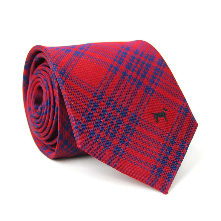 Southern Proper - Black Lab Tie: Red