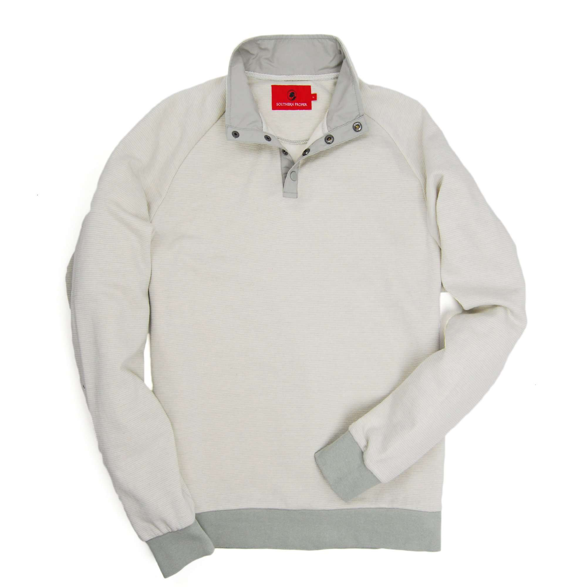 Blue Ridge Pullover - Glacier Grey