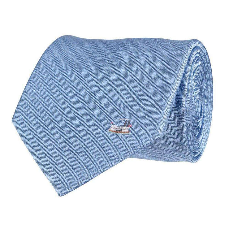 Southern Proper - Riverboat Tie: Blue