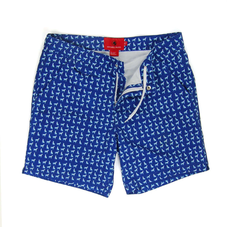 Southern Proper - Bluffton Board Short: Paddle Blue