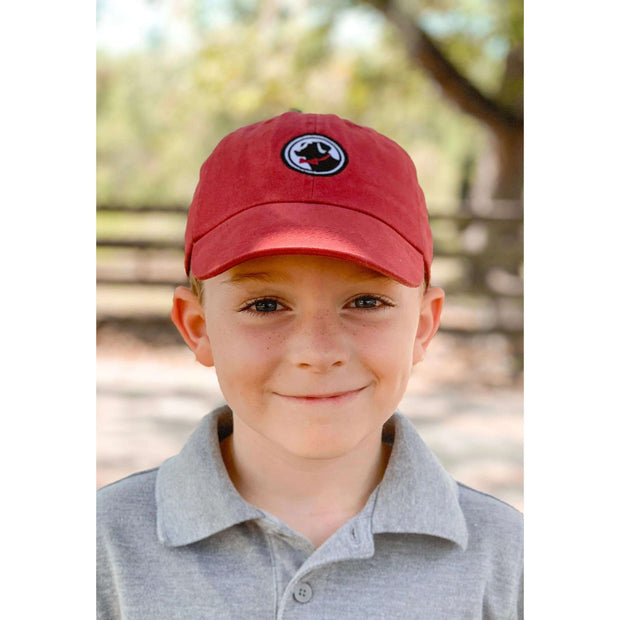 Southern Proper - Boys - Little Frat Hat: Red
