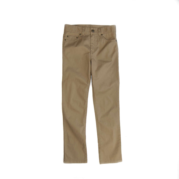 Southern Proper - Boys - Perry Five Pocket: Khaki