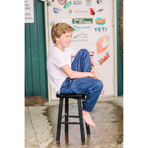 Southern Proper - Boys - Puppy Walkers: Heather Proper Navy