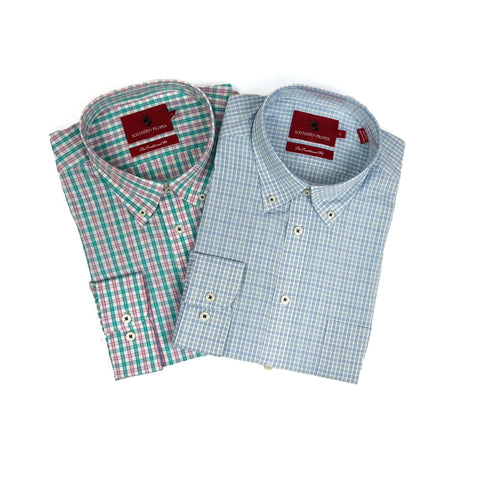 Southern Proper - Button Down Bundle: Moesley Plaid & Farley Plaid