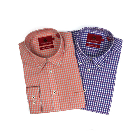 Southern Proper - Button Down Bundle: River Plaid & Bruno Plaid