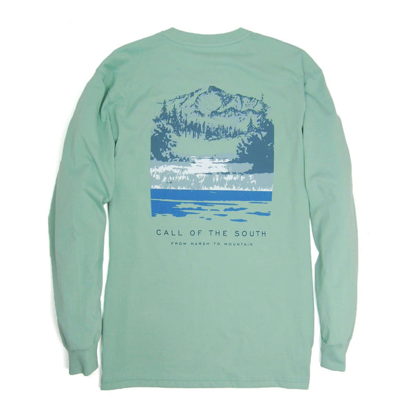 Southern Proper - Call Of The South Tee - Silt Green