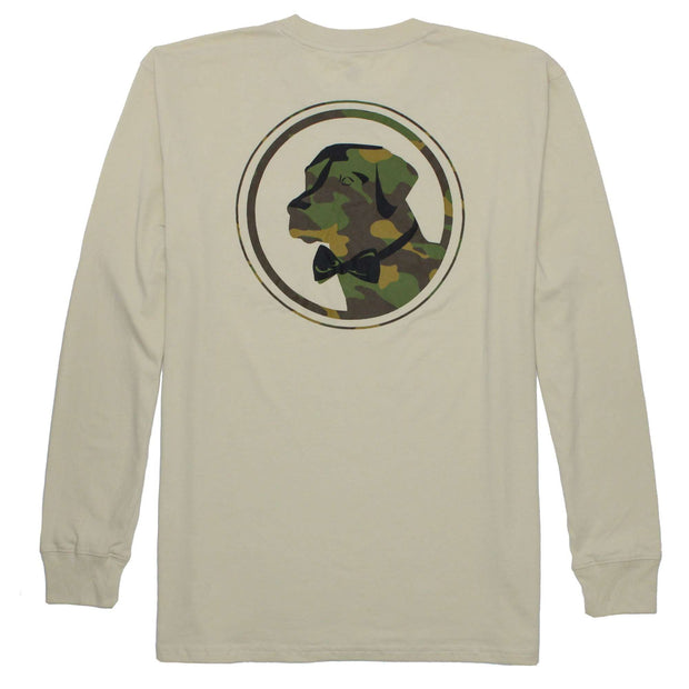 Southern Proper - Camo Lab Tee: Grits