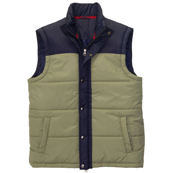Southern Proper - Campground Vest: Loden Frost