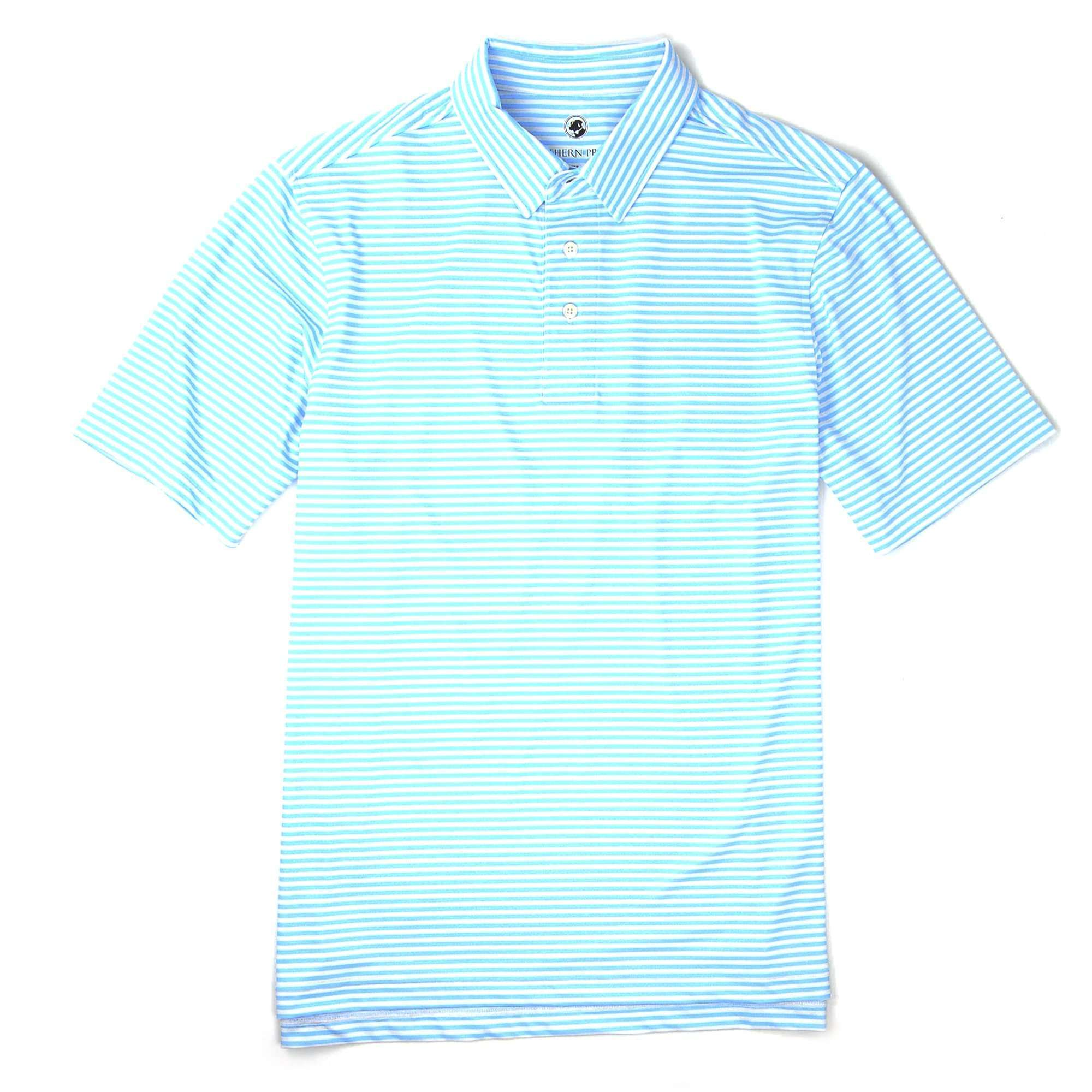 Classic Performance Polo: Light Blue