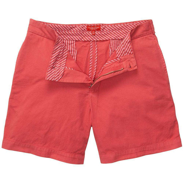 Southern Proper - Club Short - Washed Red