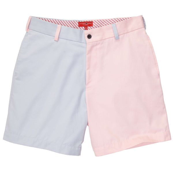 Southern Proper - Club Short: Scallop and Hydrangea