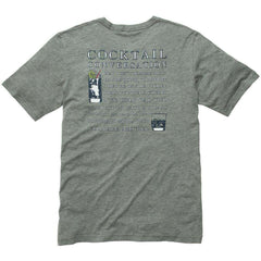 Cocktail Conversation Tee - Grey