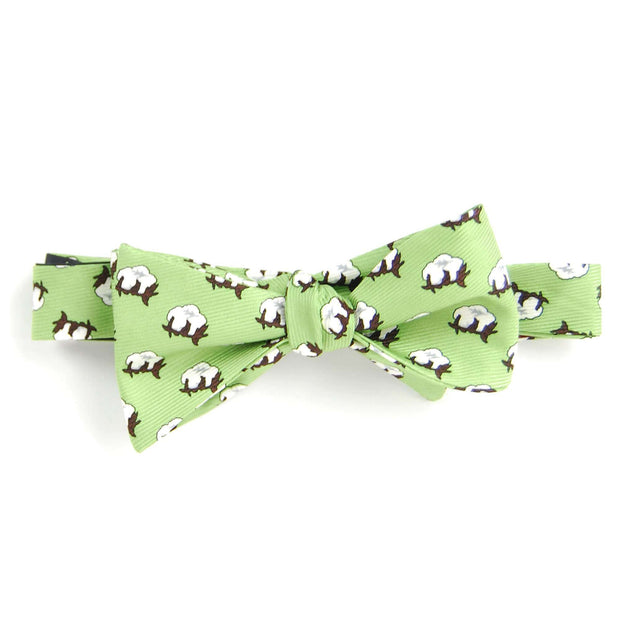 Southern Proper - Cotton Boll Bowtie: Sage Green