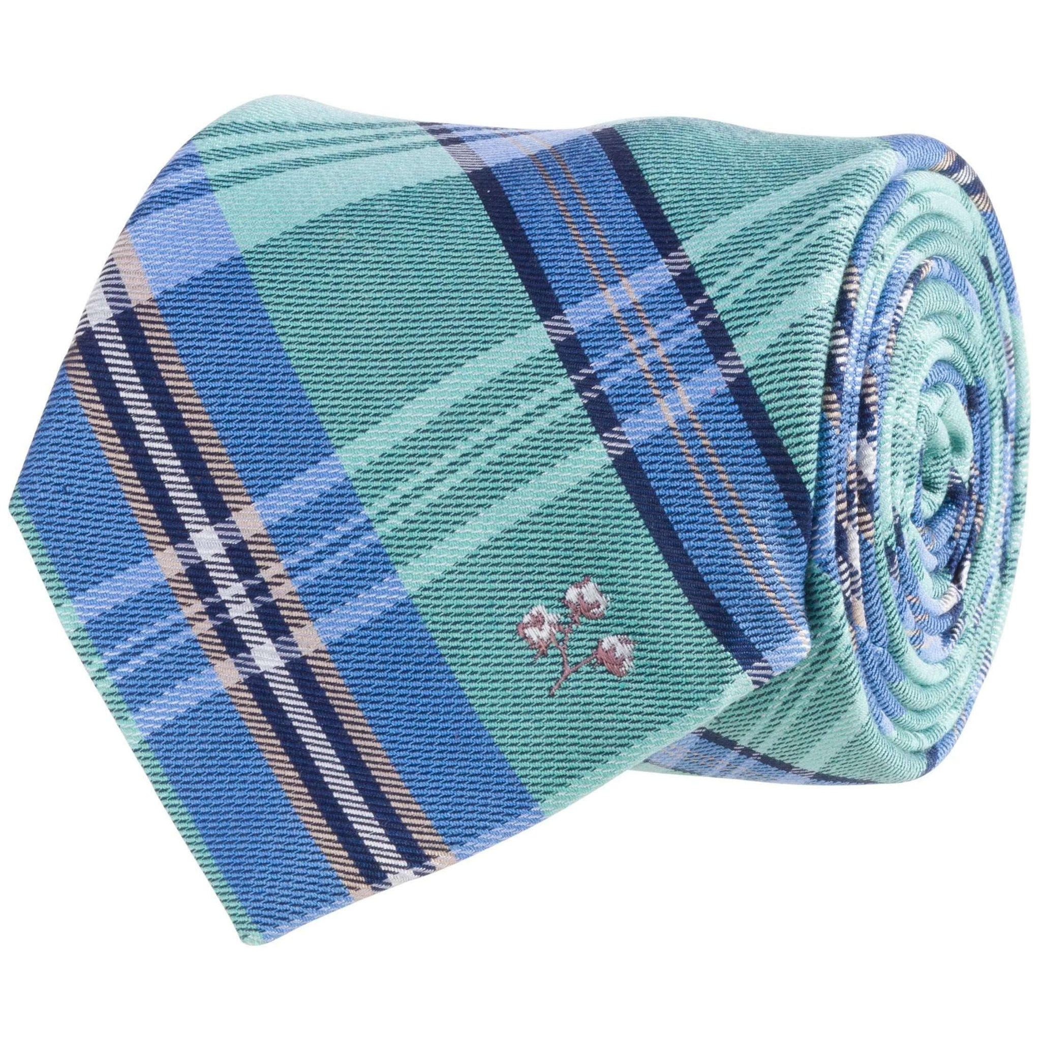 Cotton Tie: Green