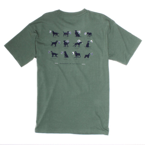 Southern Proper - Defenders of the South: Duck Green Short Sleeve