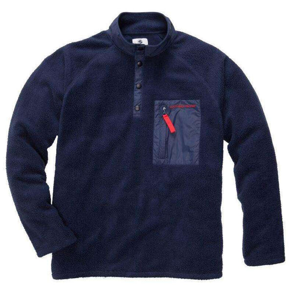 Southern Proper - Dixon Pullover: Navy