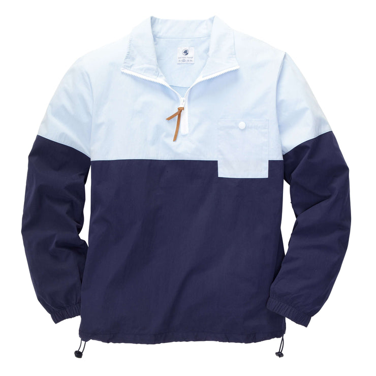 Southern Proper - Dock Pullover - Hydrangea/Navy
