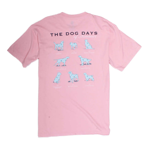 Southern Proper - Dog Days: Coral Short Sleeve