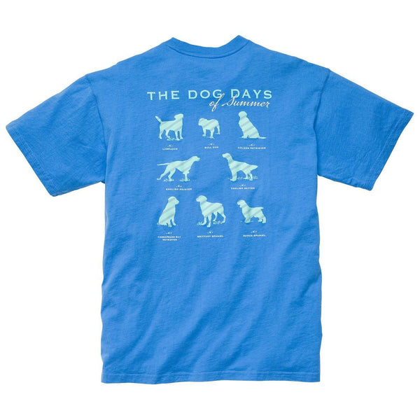 Southern Proper - Dog Days Tee: Bocce Blue
