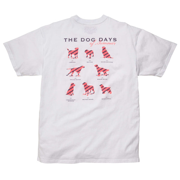 Southern Proper - Dog Days Tee: White
