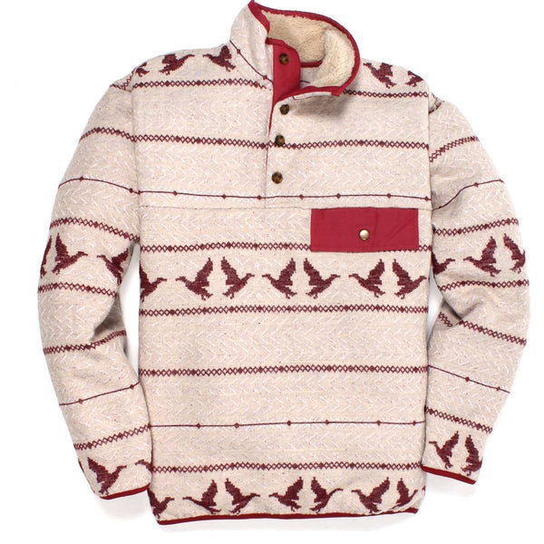 Southern Proper - Duck Call Pullover: Sherpa Lined