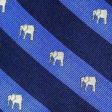 Southern Proper - Elephant Repp Bow Blue