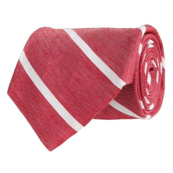 Southern Proper - Linen Stripe Gent - Red