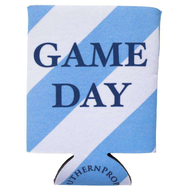 Southern Proper - Lt. Blue & White Gameday Coozie