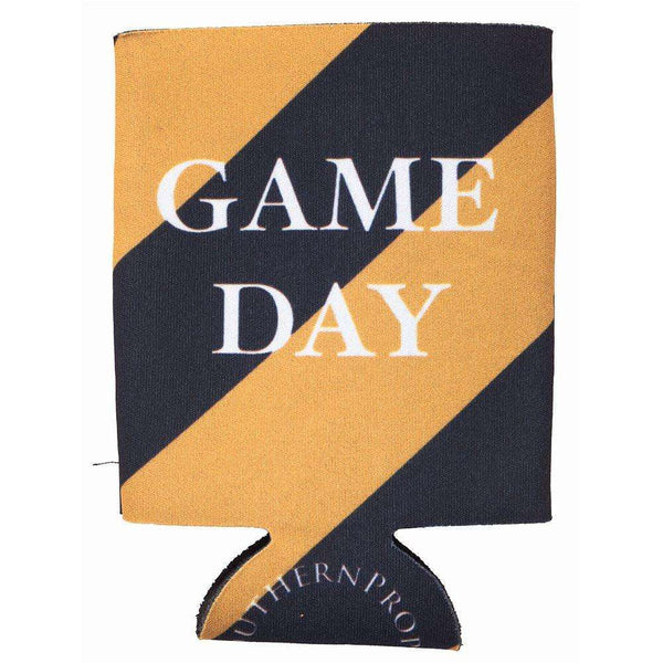 Southern Proper - Gold & Black Gameday Coozie