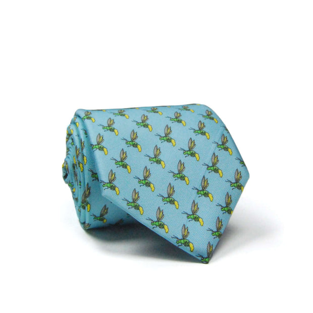 Southern Proper - Firefly Tie: Light Blue