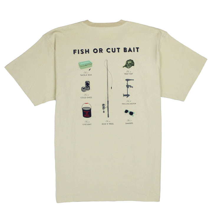 Southern Proper - Fish Or Cut Bait Tee: Grits