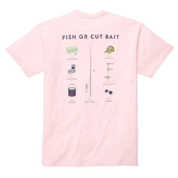 Southern Proper - Fish or Cut Bait Tee: Pink