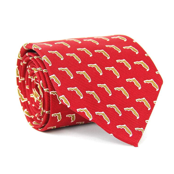 Southern Proper - Florida Gameday Tie: Maroon