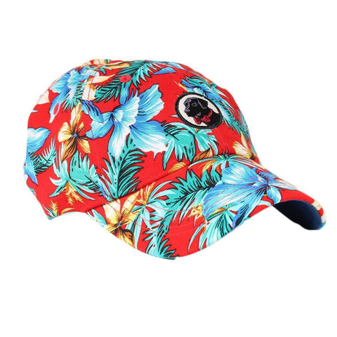 Southern Proper - Frat Hat: Red Tropical