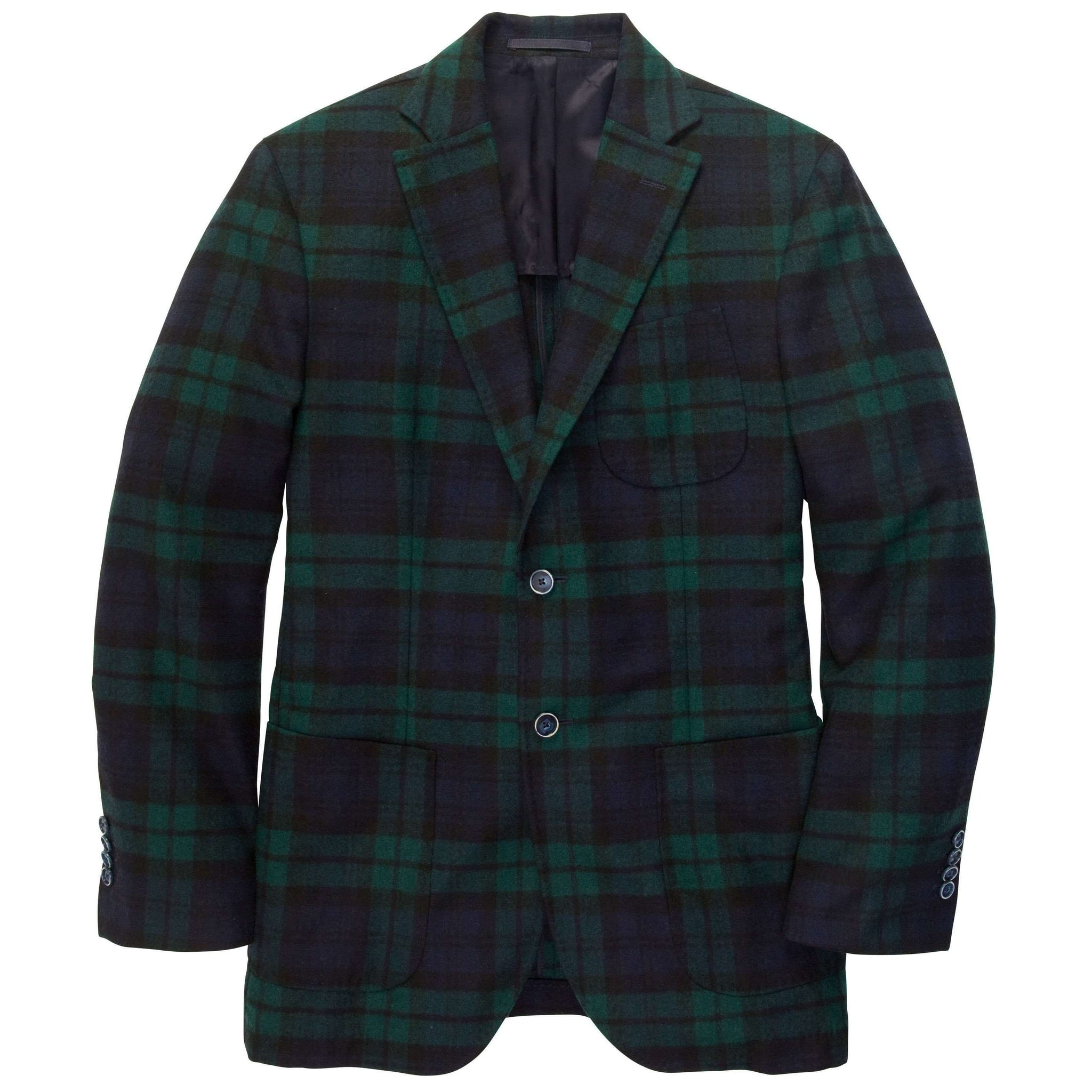 Gentleman's Jacket: Blackwatch Plaid