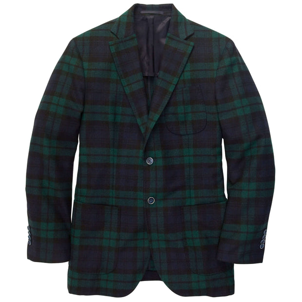 Southern Proper - Gentleman's Jacket: Blackwatch Plaid