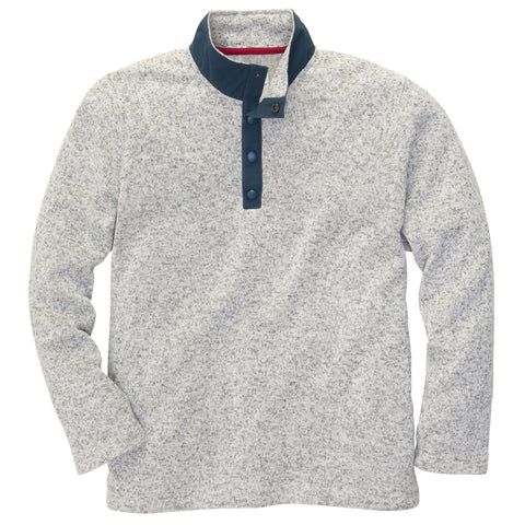 Southern Proper - Getty Fleece: Light Grey