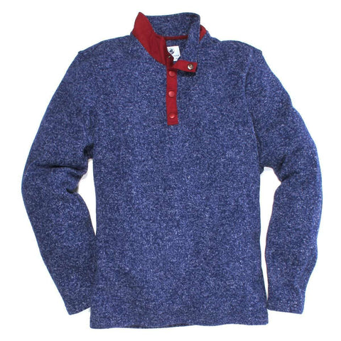 Southern Proper - Getty Fleece: Midnight Blue