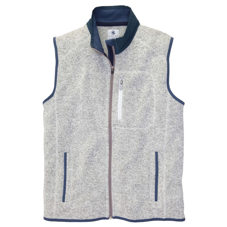 Southern Proper - Getty Vest: Light Grey