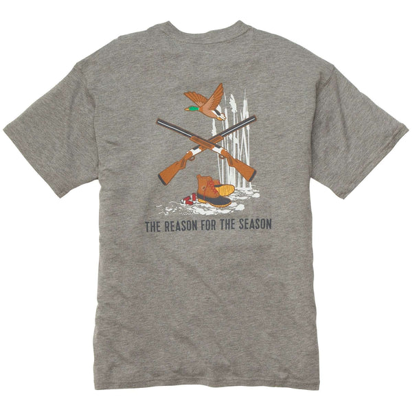 Southern Proper - Reason For The Season: Heather Grey Short Sleeve